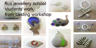 short specialist jewellery making workshops at flux