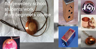 making beads and pendants from copper and silver