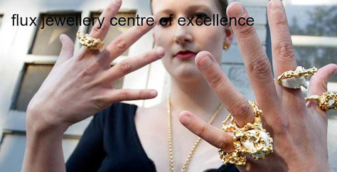 Jewellery design and concept is central to our work. Flux membership gives opportunities to explore these ideas