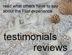 See what our members and students have to say about Flux Studios. Reviews of Flux jewellery school courses and short specialist classes in jewellery making.