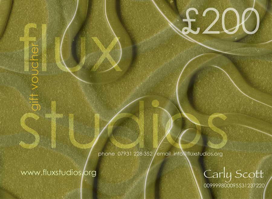 Flux Studios.You can also purchase our gift vouchers which are personalised for you. Vouchers can be used for courses and for jeweWe offer personalised gift vouchers that can be used to join our jewellery courses or to purchase a piece of jewellery from one of the Flux jewellersllery purchases.
